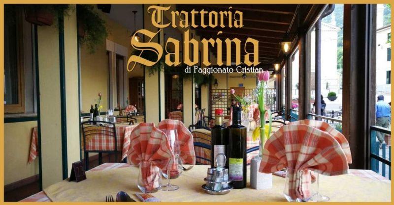 Trattoria Sabrina - Offerta specialità ristorante tipico di Villaga in provincia di Vicenza
