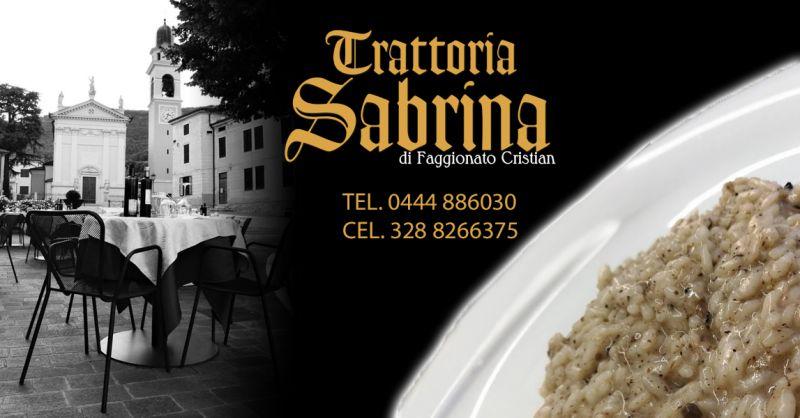 Offerta Dove Mangiare Risotto al Tartufo Nero dei Berici Vicenza - Occasione Cucina tipica Vicentina