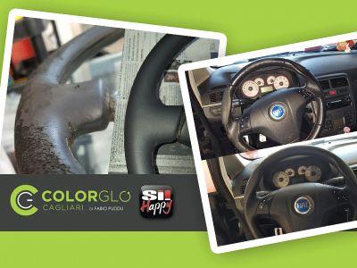 offerta ripristino volante auto occasione restauro volante auto colorglo cagliari