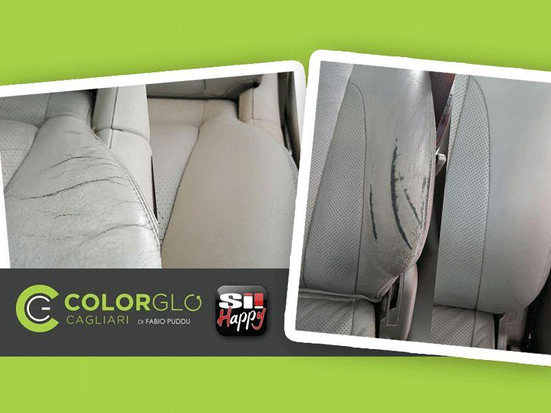 offerta restauro sedili auto promozione riparazione sedili auto colorglo cagliari