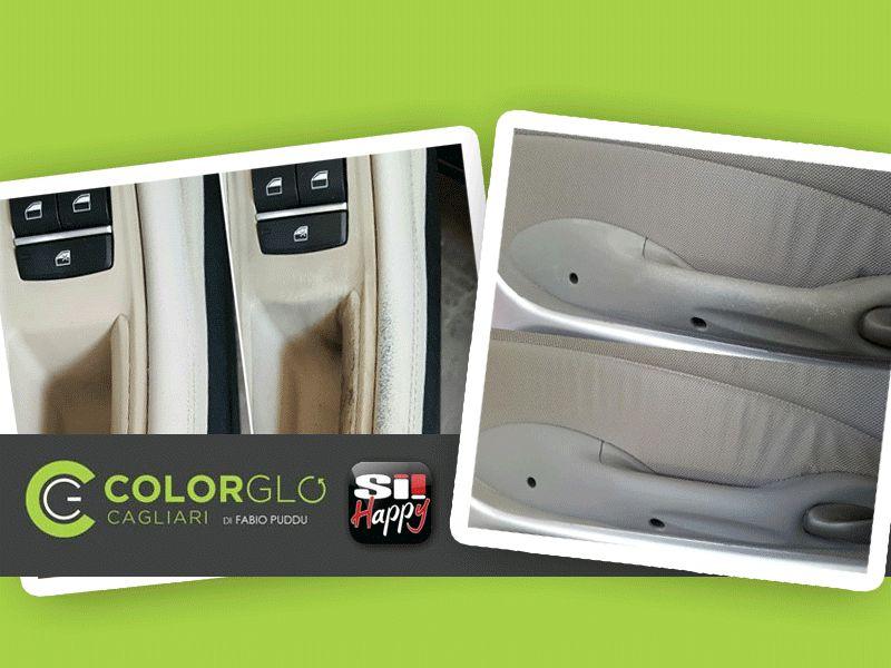 offerta restauro interni auto promozione ripristino interni auto colorglo cagliari