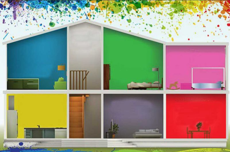dai colore agli ambienti della tua casa