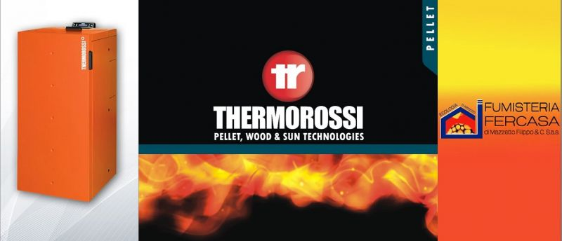 offerta caldaia a pellet thermorossi vicenza occasione nuova caldaia pellet thermorossi