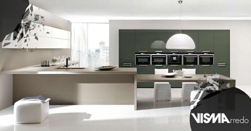 Offerta Modelli Cucina di design Moderno Vicenza - Occasione Cucina Completa di Elettrodomestici su Misura Padova