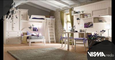offerta letto a castello per bambini su misura padova occasione arredo cameretta bimbi made in italy
