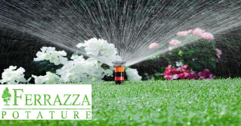 offerta realizzazione impianti irrigazione per giardini Roma - occasione irrigazione automatica