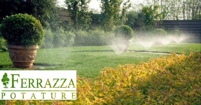 offerta impianto irrigazione giardino Roma - occasione realizzazione irrigazione giardino Roma