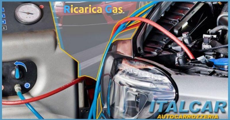 Promozione ricarica gas Siena - Offerta ricarica aria condizionata Siena ITALCAR