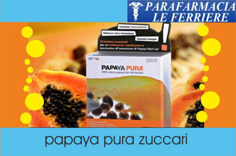 Offerta Papaya Pura fermentata Zuccari Integratore | Parafarmacia Le Ferriere Imperia