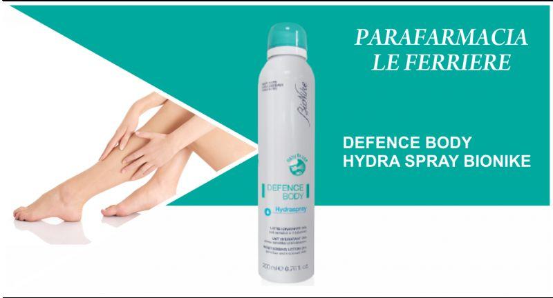 offerta bionike defence body hydra spray - occasione crema corpo idratante spray imperia