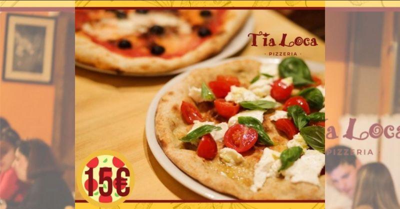 PIZZERIA TIA LOCA - offerta giropizza menu fisso anche gluten free
