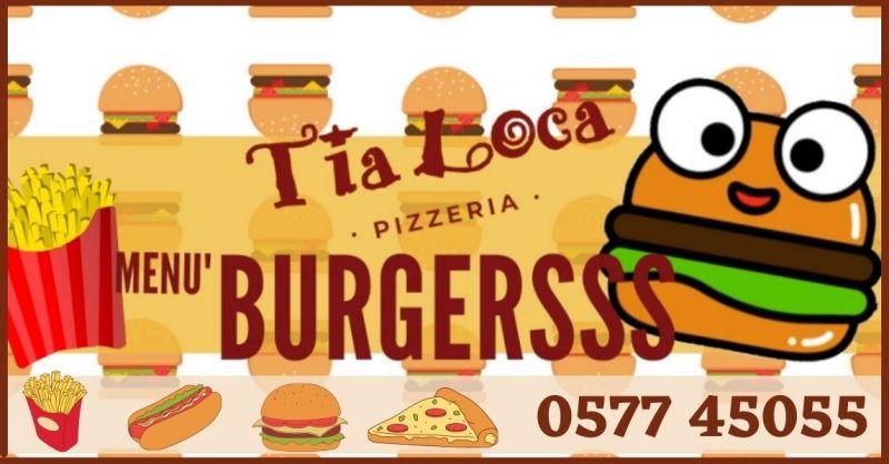 PIZZERIA TIA LOCA - offerta Pizzeria menu a domicilio e asporto Siena