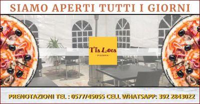 promozione ristorante e pizzeria con tavoli all aperto siena occasione ristorante con terrazza riscaldata