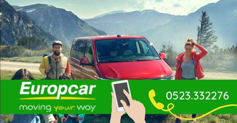 EUROPCAR - Occasione pulmini minivan 9 posti noleggio al miglior prezzo Piacenza
