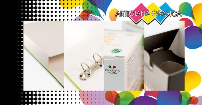 Offerta Servizio Specializzato di CARTOTECNICA Vicenza - Occasione Realizzazione Packaging Raccoglitori ed Espositori