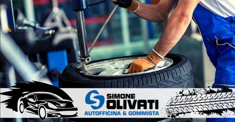 Offerta riparazione cambio gomme estive invernali Cerea - Occasione officina servizio elettrauto Legnago