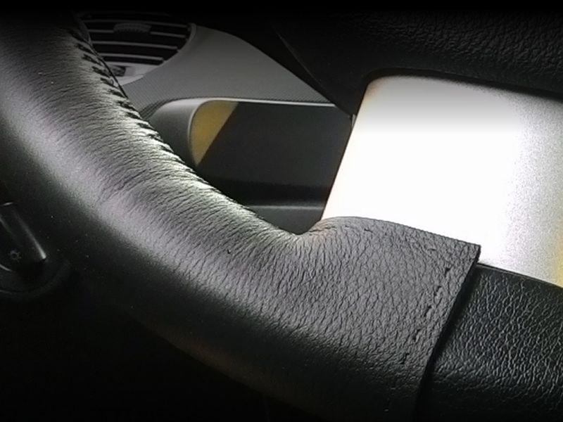 offerta rivestimento volante auto promozione volante auto pelle tappezzeria trentinella