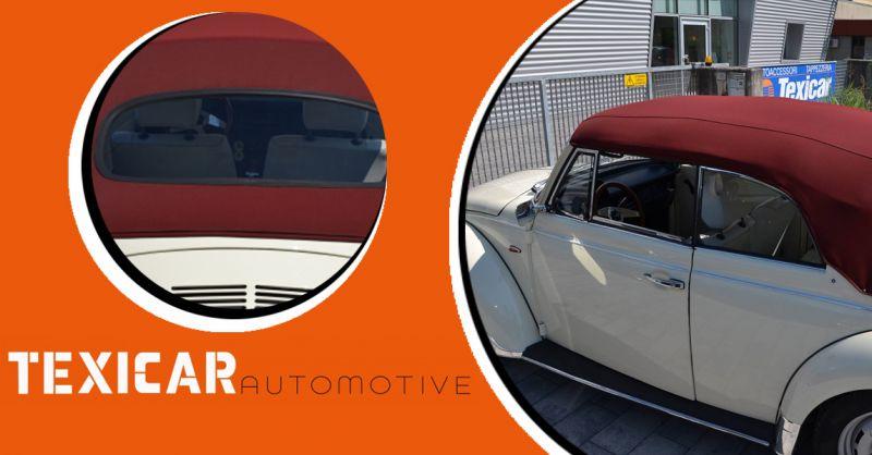 Texicar Automotive - Offerta ripristino capote specifiche in tessuto pvc cieli sottotetto auto