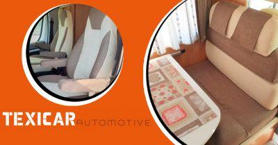 texicar automotive occasione interni camper tessuti qualita protezioni termiche e cuscinerie