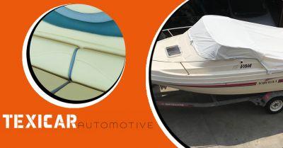 texicar automotive offerta ripristino copertura imbarcazioni e cuscinerie interne ed esterne