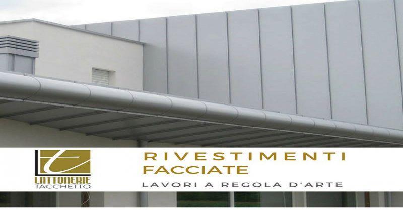 Lattonerie Tacchetto offerta rivestimento pareti esterne - occasione facciate edificio Treviso