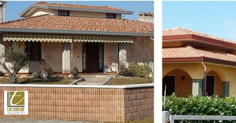 Lattoniere Tacchetto offerta ristrutturazione case - occasione contorni e abbellimenti edifici