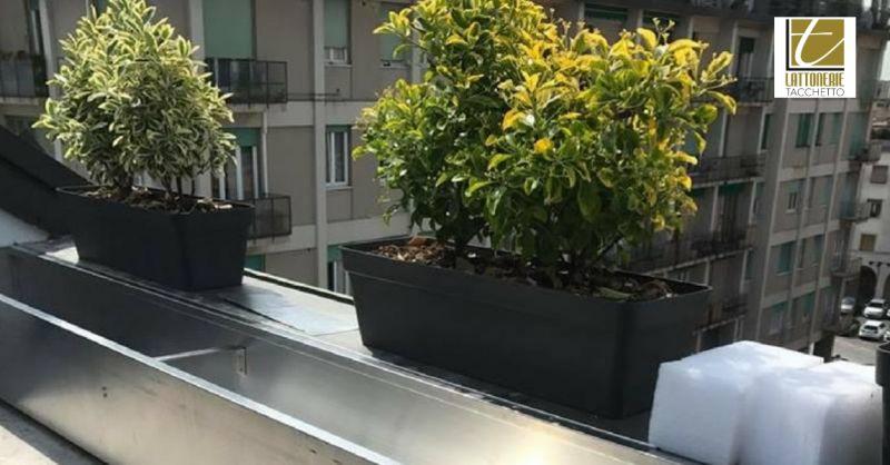 Lattonerie Tacchetto offerta vendita fioriere - occasione porta vasi per balcone o giardino
