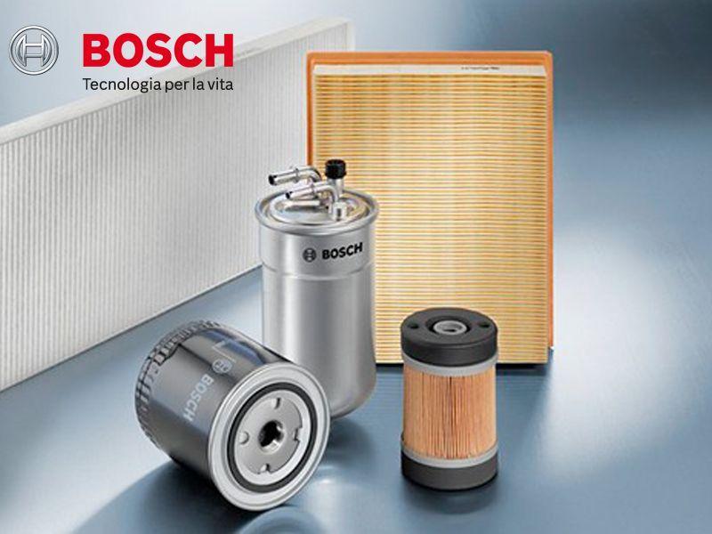 Offerta Kit Auto 3 Filtri Bosch - Occasione Filtri Auto Bosch - Punto Ricambi Autoveicoli