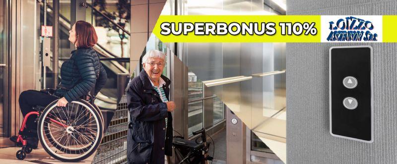 Loizzo Ascensori - occasione superbonus 110 installazione ascensori e montacarichi - offerta superbonus 110 eliminazione di barriere architettoniche