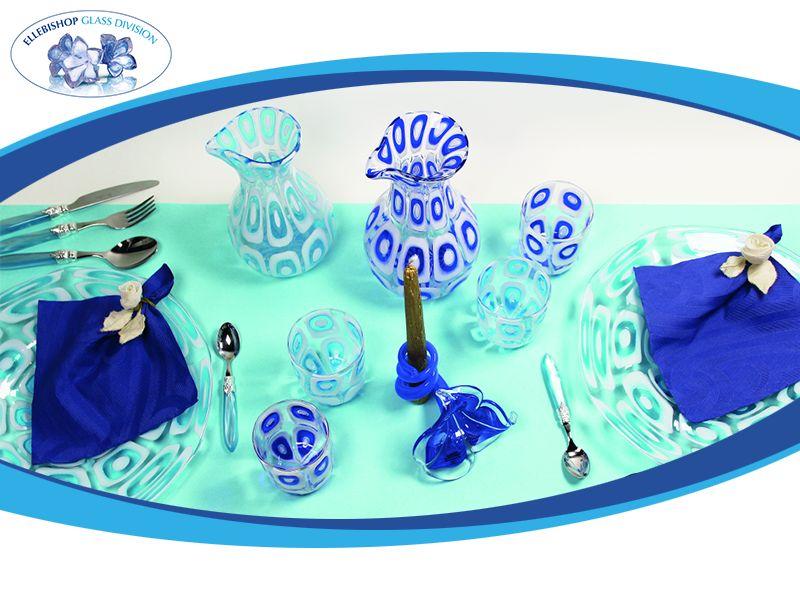 promozione oggetti darte preziosi bicchieri brocche piatti vetro di murano vicenza