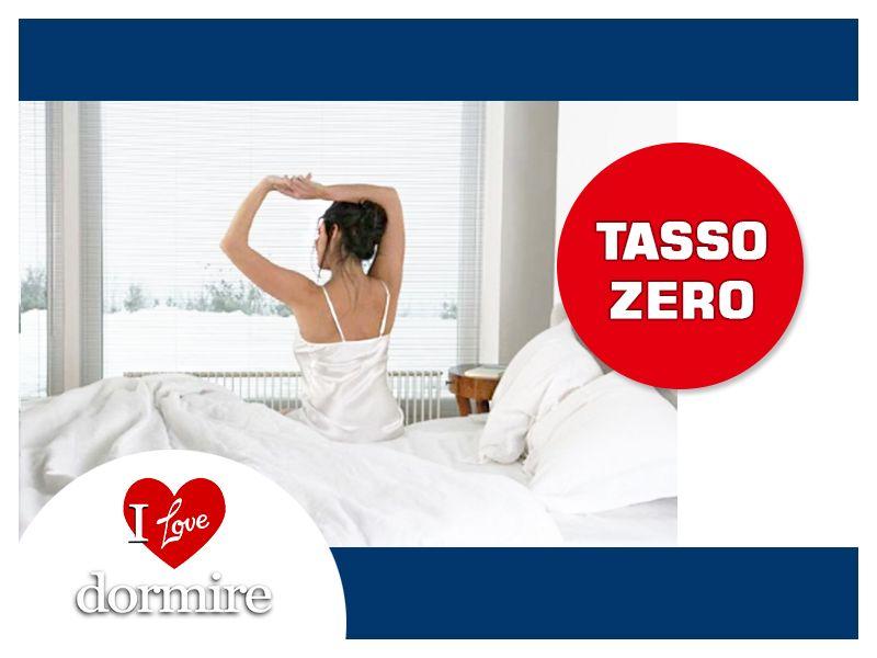 offerta materassi a tasso 0 promozione materasso tasso 0 i love dormire