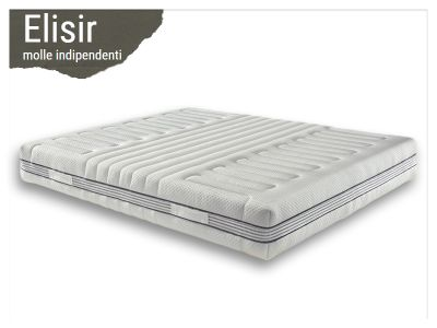 offerta materasso molle indipendenti promozione materasso elisir i love dormire