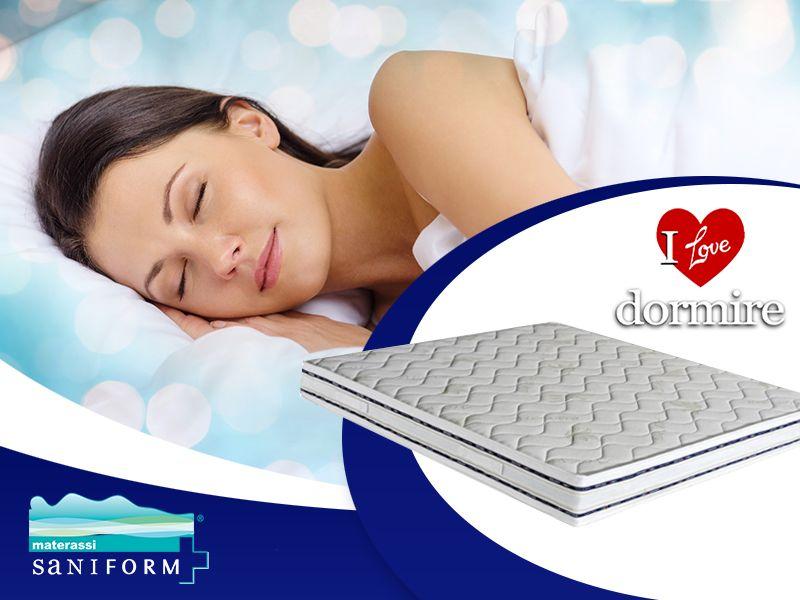 Offerta Materassi Saniform - Occasione Nuova Linea Saniform - I Love Dormire