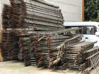 occasione scale in legno offerta scale in legno militari