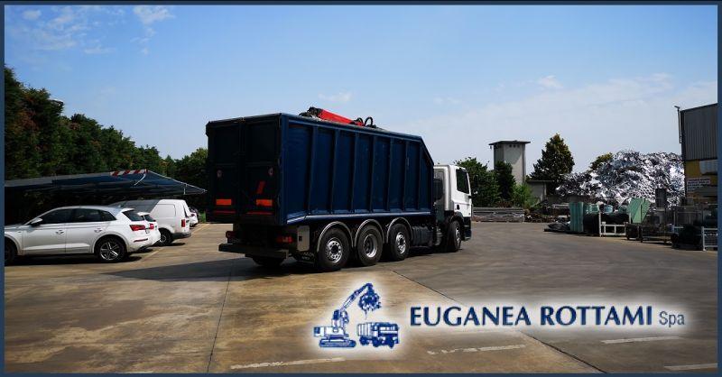 EUGANEA ROTTAMI SPA - Cerca servizio mezzi sicuri per il trasporto materiali ferrosi e rifiuti