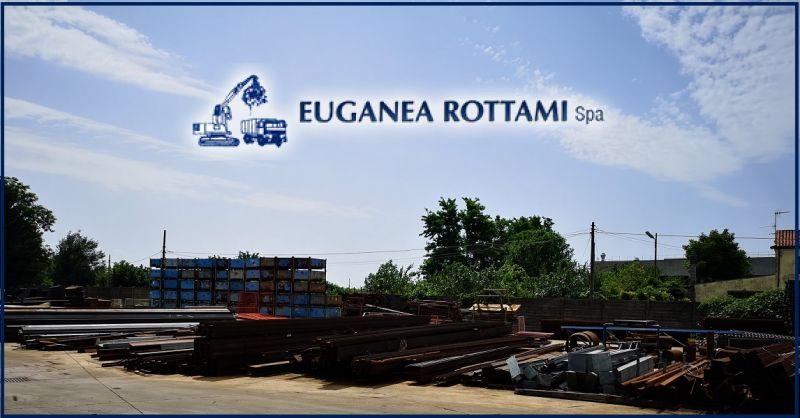 EUGANEA ROTTAMI SPA - Servizio trasporto e stoccaggio di materiali ferrosi con noleggio cassoni