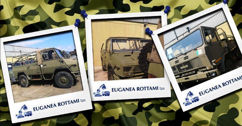 Offerta mezzi militari usati  Vicenza - Occasione Vendita veicoli militari usati Vicenza