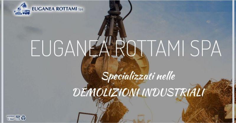 Euganea Rottami SPA - Trova azienda specializzata nella raccolta e trasporto rifiuti metallici