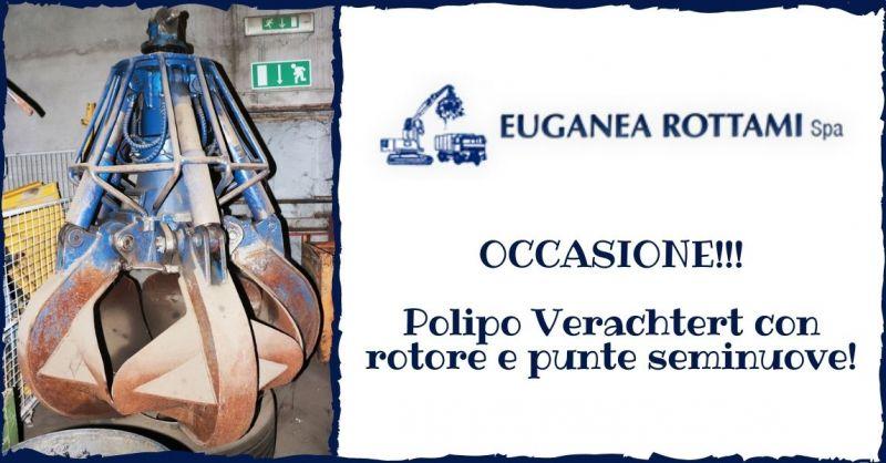 EUGANEA ROTTAMI SPA - OCCASIONE Polipo Verachtert con rotore e punte seminuove 600 litri Vicenza
