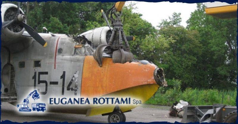 Euganea Rottami S.p.A. - Offerta servizio professionale demolizioni industriali presso terzi