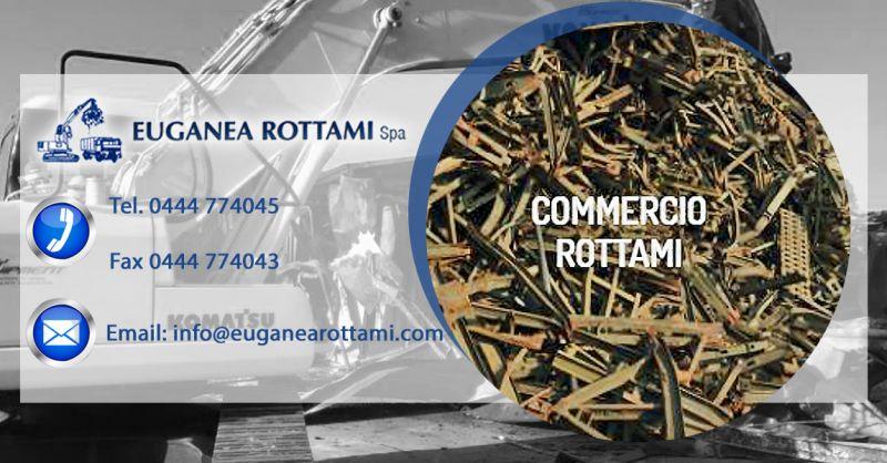 Euganea Rottami S.p.A. - Offerta commercializzazione materie prime secondarie commercio rottami
