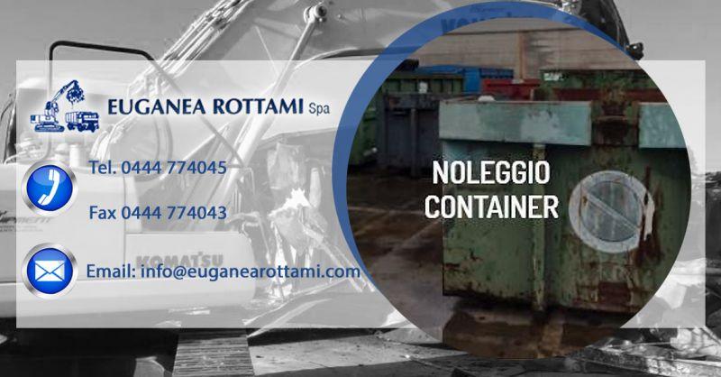 Euganea Rottami S.p.A. - Occasione servizio noleggio di cassoni e container raccolta rottami