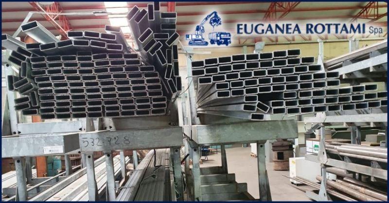 Occasione vendita al dettaglio di Tubi e Lamiere zincate di varie dimensioni Vicenza