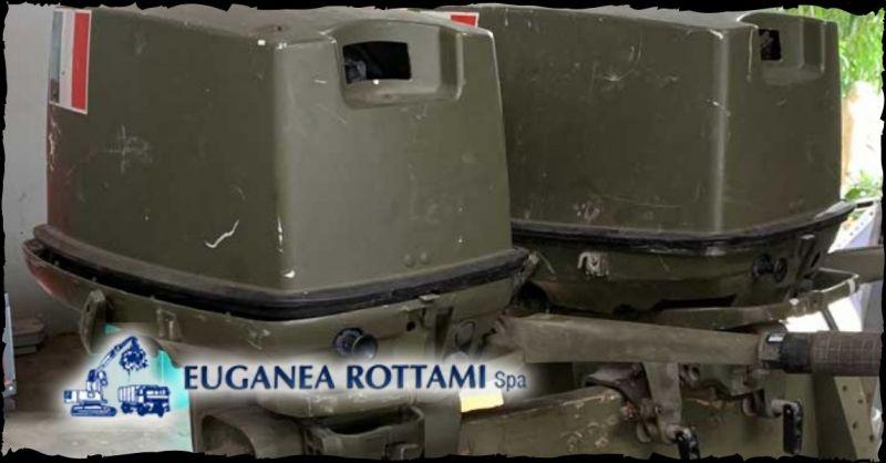EUGANEA ROTTAMI SPA - Trova chi vende motori usati da barca militari a Vicenza e provincia