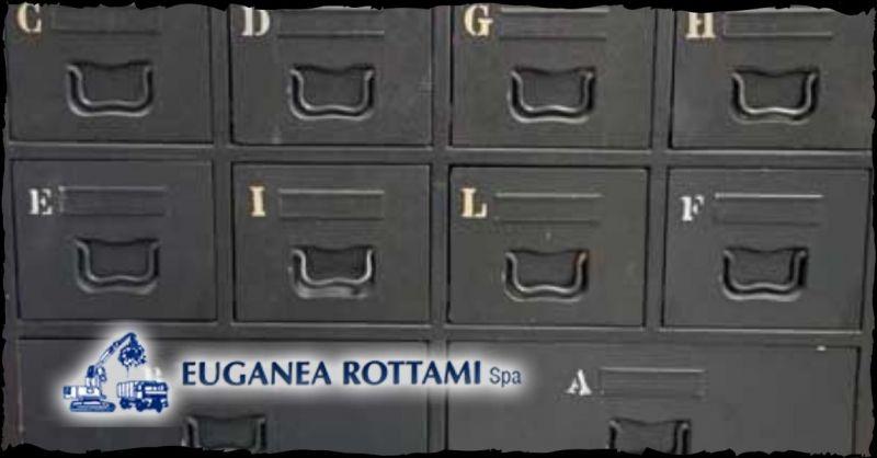 EUGANEA ROTTAMI SPA - Trova le migliori offerte di vendita cassettiere a Vicenza