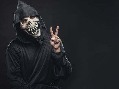offerta vendita maschere travestimenti per halloween promozione accessori trucchi verona
