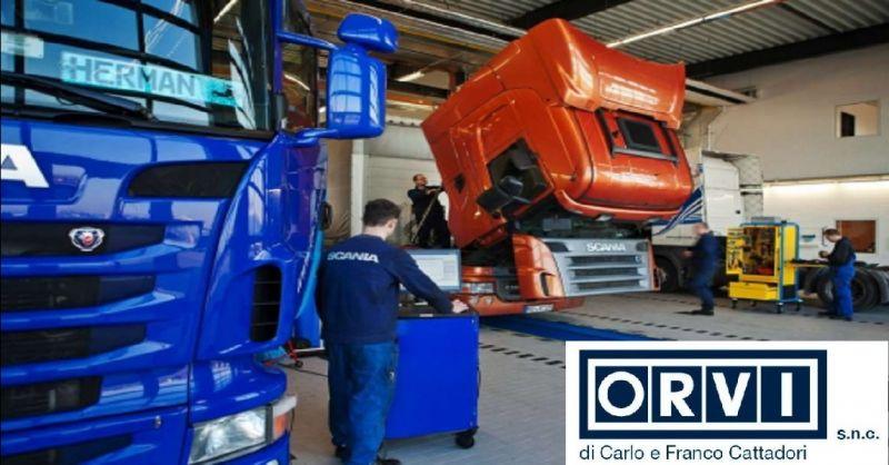 offerta officina per veicoli pesanti a Piacenza - occasione revisione a veicoli industriali