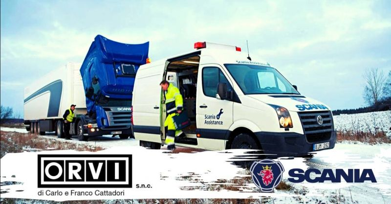 Promozione servizio Scania Assistance Piacenza - offerta assistenza stradale Scania 24h Piacenza