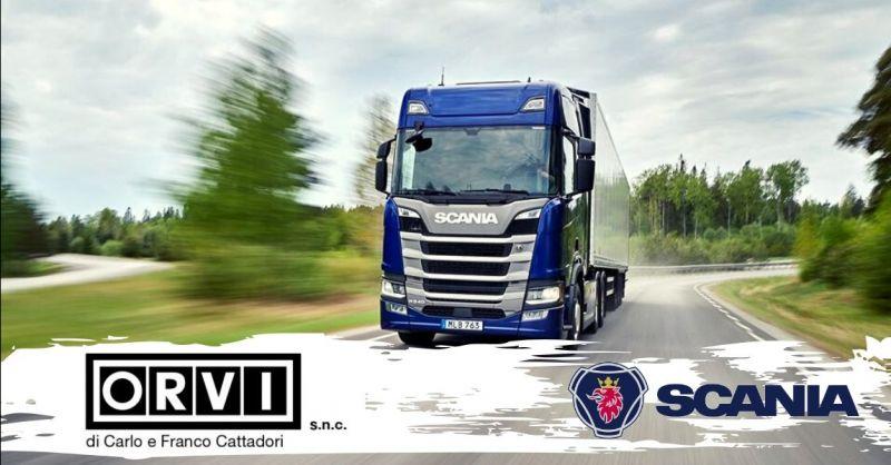 Promozione officina autorizzata per la riparazione camion Scania Piacenza