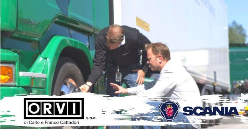 Promozione servizio assistenza veicoli industriali - offerta fornitura ricambi camion Piacenza